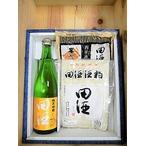 ご進物セット(2) 『田酒 純米吟醸酒720ml 1本』& 『 酒粕 2個』 【西田酒造】