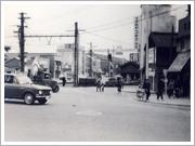 昭和40年代の御陵前交差点